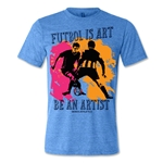 Senda Futbol is Art T-Shirt (Blue)