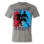 Senda Futbol is Art T-Shirt (Gray)