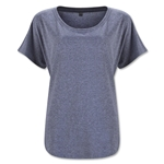 Women's Tri-Blend Dolman Top (Gray)