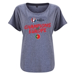 Portugal UEFA Euro 2016 Champions Women's Dolman Top (Gray)