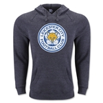 Leicester City Crest Hoody (Dark Gray)