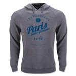 Paris Saint-Germain Circle Script Full Zip Hoody (Gray)