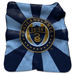 Philadelphia Union Raschel Throw Blanket