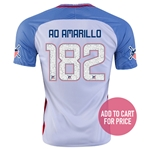 USA 2016 AMARILLO American Outlaws Home Soccer Jersey