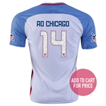 USA 2016 CHICAGO American Outlaws Home Soccer Jersey