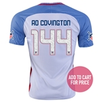 USA 2016 COVINGTON American Outlaws Home Soccer Jersey