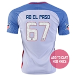 USA 2016 EL PASO American Outlaws Home Soccer Jersey