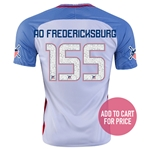 USA 2016 FREDERICKSBURG American Outlaws Home Soccer Jersey