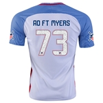 USA 2016 FT. MYERS American Outlaws Home Soccer Jersey