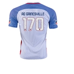 USA 2016 GAINESVILLE American Outlaws Home Soccer Jersey