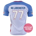 USA 2016 LANCASTER American Outlaws Home Soccer Jersey