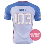 USA 2016 LONG ISLAND American Outlaws Home Soccer Jersey