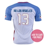 USA 2016 LOS ANGELES American Outlaws Home Soccer Jersey