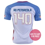USA 2016 PENSACOLA American Outlaws Home Soccer Jersey