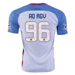 USA 2016 RIO GRANDE VALLEY American Outlaws Home Soccer Jersey