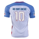 USA 2016 SAN DIEGO American Outlaws Home Soccer Jersey