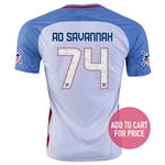USA 2016 SAVANNAH American Outlaws Home Soccer Jersey