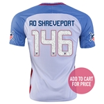 USA 2016 SHREVEPORT American Outlaws Home Soccer Jersey