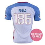 USA 2016 SLO American Outlaws Home Soccer Jersey