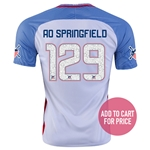 USA 2016 SPRINGFIELD American Outlaws Home Soccer Jersey