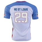 USA 2016 ST. LOUIS American Outlaws Home Soccer Jersey