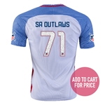 USA 2016 SAN ANTONIO American Outlaws Home Soccer Jersey
