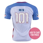 USA 2016 SI American Outlaws Home Soccer Jersey