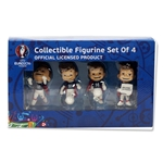 Euro 2016 Mascot Figurine Set (4 pc)