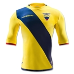 Ecuador 2016 Authentic Home Soccer Jersey