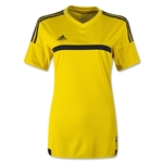 adidas Women's MLS 15 Match Jersey (Yl/Bk)
