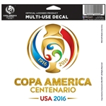 Copa America 2016 5x6 Logo Decal