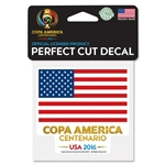 Copa America 2016 4x4 USA Decal