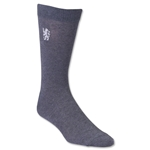 Chelsea Lion Crest Sock (Gray)