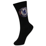 Chelsea Youth Crest Sock