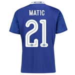 Chelsea 16/17 21 MATIC Linear Home Soccer Jersey