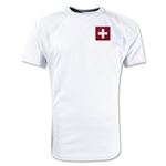Switzerland Gambeta Soccer Jersey (White)