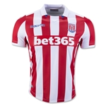 Stoke City 16/17 Home Soccer Jersey