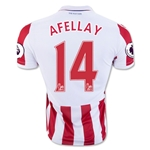 Stoke City 16/17 AFELLAY Home Soccer Jersey