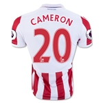Stoke City 16/17 CAMERON Home Soccer Jersey