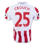 Stoke City 16/17 CROUCH Home Soccer Jersey
