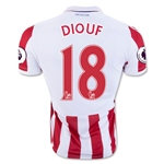 Stoke City 16/17 DIOUF Home Soccer Jersey