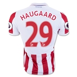 Stoke City 16/17 HAUGAARD Home Soccer Jersey
