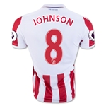 Stoke City 16/17 JOHNSON Home Soccer Jersey
