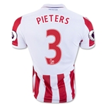 Stoke City 16/17 PIETERS Home Soccer Jersey