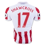 Stoke City 16/17 SHAWCROSS Home Soccer Jersey