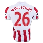 Stoke City 16/17 WOLLSCHIED Home Soccer Jersey