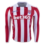 Stoke City 16/17 LS Home Soccer Jersey