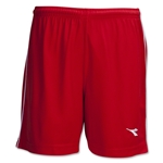 Diadora Ermano Soccer Shorts (Red)