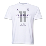 Real Madrid 15/16 Champions League Winners T-Shirt