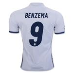 Real Madrid 16/17 BENZEMA Home Soccer Jersey